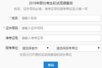 2018年西安电子科技大学在职研究生(非全日制)成绩查询入口