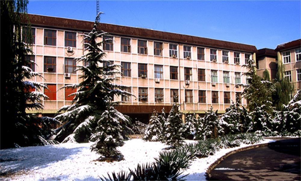 冬季的中国政法大学