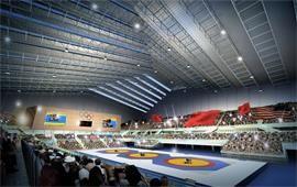 中国农业大学跤赛场