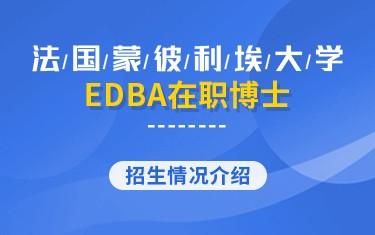 法国蒙彼利埃大学EDBA在职博士招生简章
